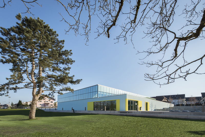 Neumatt Sports Hall, Strengelbach - Switzerland