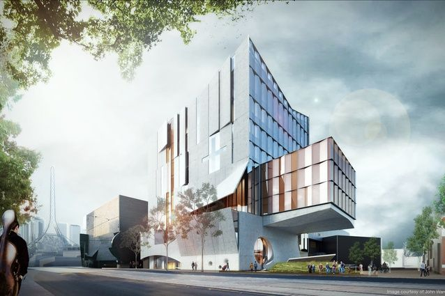 John Wardle Architects wins Melbourne Conservatorium of Music competition