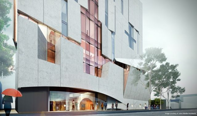 John wardle architects wins melbourne conservatorium of music the design also includes a public square or pocket park which will contribute to a community space plan outlined in the melbourne arts precinct blueprint malvernweather Choice Image