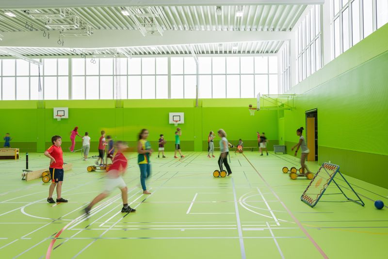 Neumatt Sports Hall, Strengelbach - Switzerland